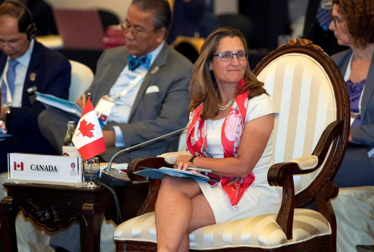 Canada's Foreign Minister Chrystia Freeland, Association of Southeast Asian Nations, ASEAN,
