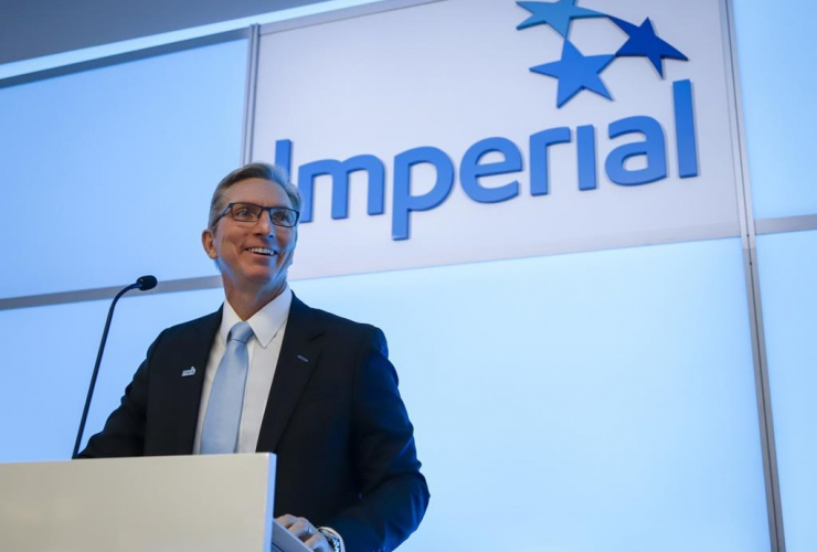 Imperial Oil president and CEO Rich Kruger,