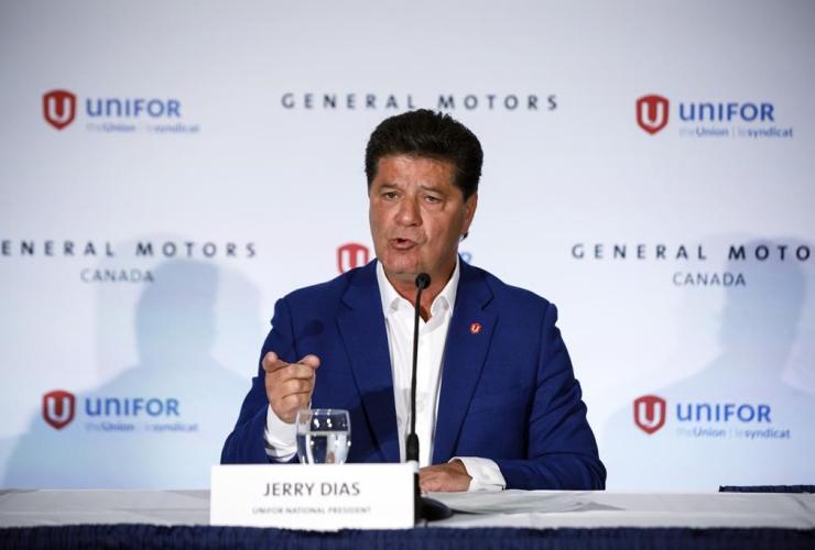 Unifor national president Jerry Dias,
