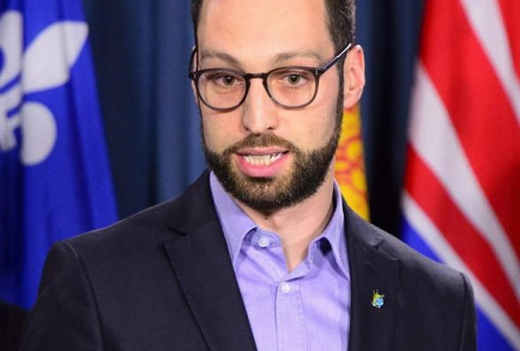 Patrick Nadeau, Executive Director of Ottawa Riverkeeper,