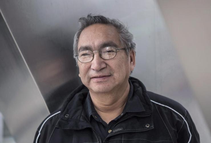 Chief Simon Fobister, Grassy Narrows First Nation,