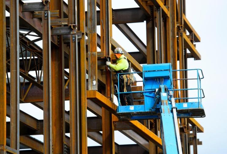 steel worker,