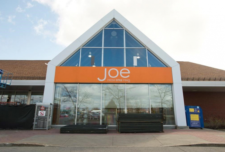 Joe Fresh store, Loblaws outlet, Montreal,