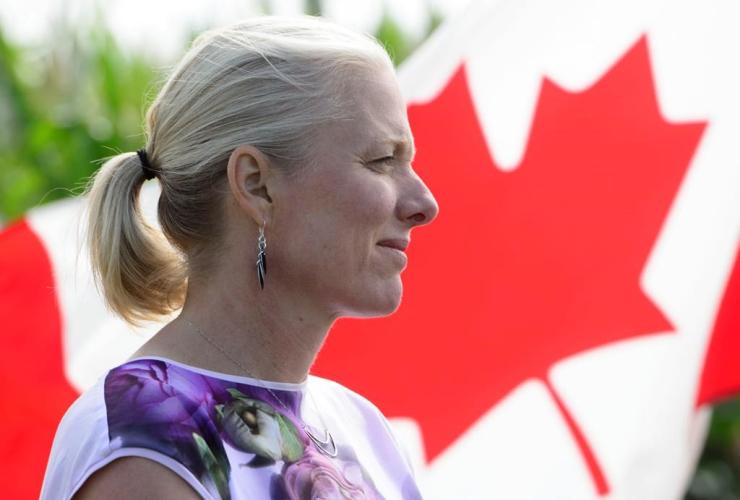 Environment Minister Catherine McKenna,