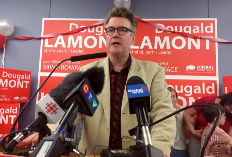 Manitoba Liberal Leader Dougald Lamont,
