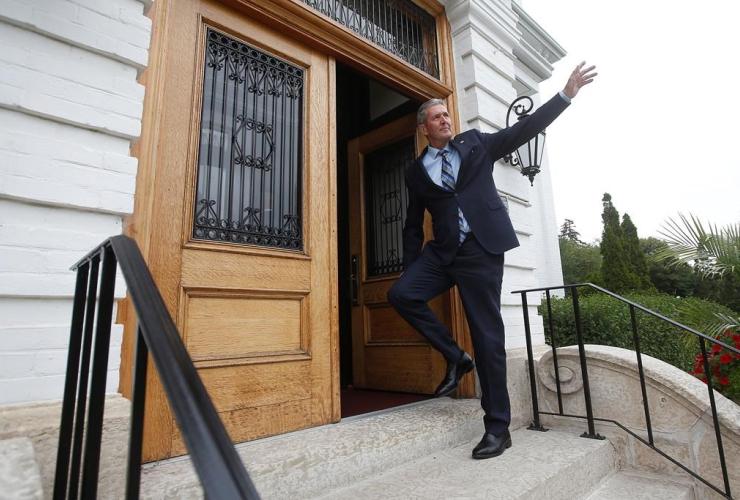 Manitoba Premier Brian Pallister,