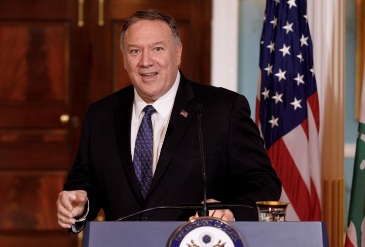 Secretary of State Mike Pompeo,