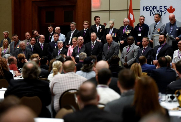 People's Party of Canada, veterans policy, PPC National Conference, Gatineau,