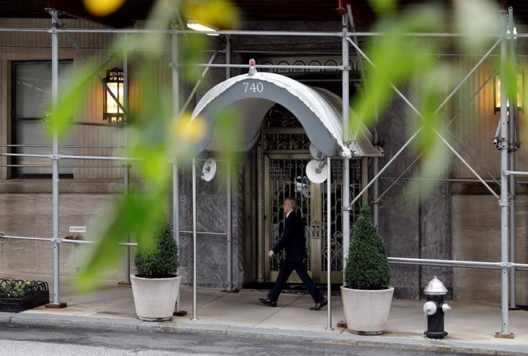 Park Avenue residence, billionaire industrialist, David H. Koch, New York,