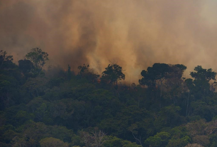 Fire, Porto Velho, Brazil,