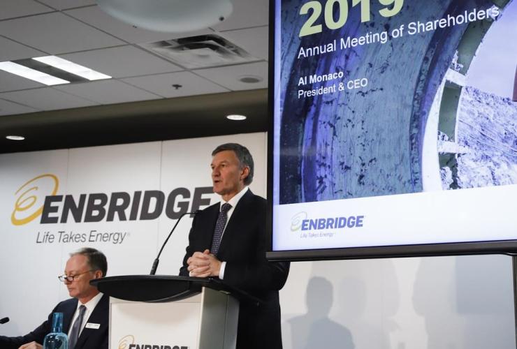 Enbridge president and CEO Al Monaco,