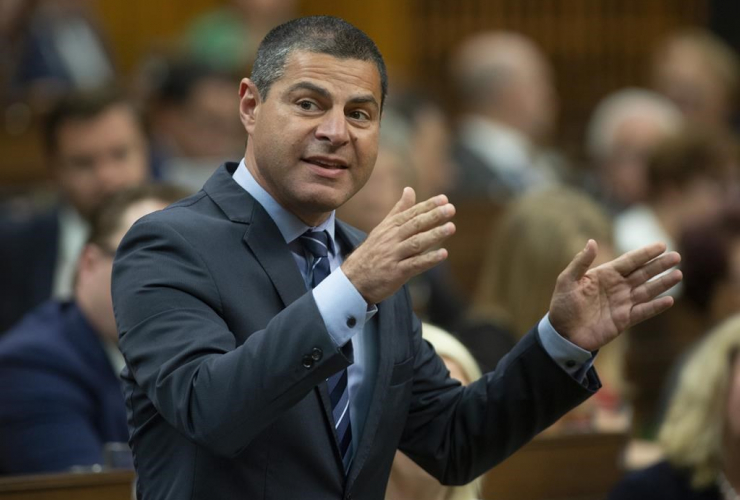 Conservative MP Alain Rayes, House of Commons, Ottawa,