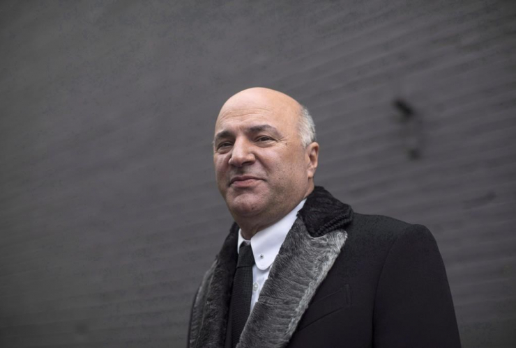 Federal Conservative leadership candidate, Kevin O'Leary,