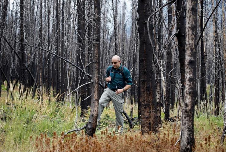 Dallas Meidinger, Waterton Park communications officer, Waterton National Park,
