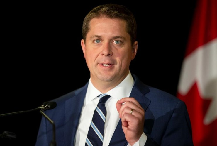 Federal Conservative Leader Andrew Scheer,