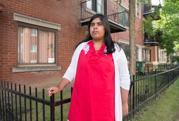 Samiha Hassain, Montreal, Parc-Extension,