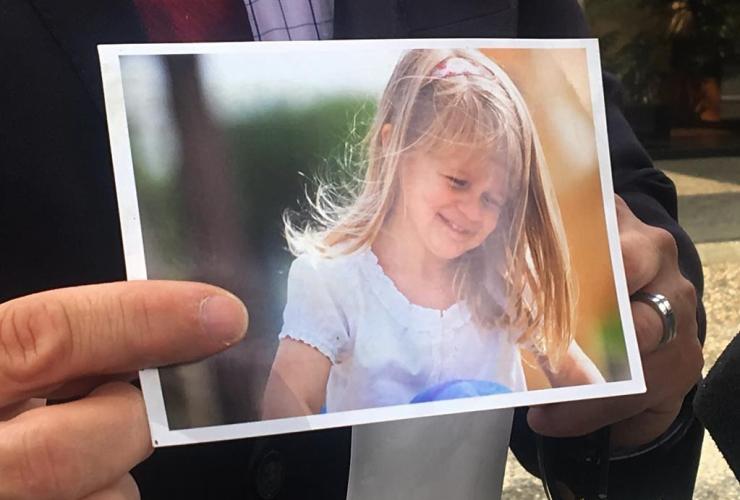 Gabe Batstone, daughter Teagan,