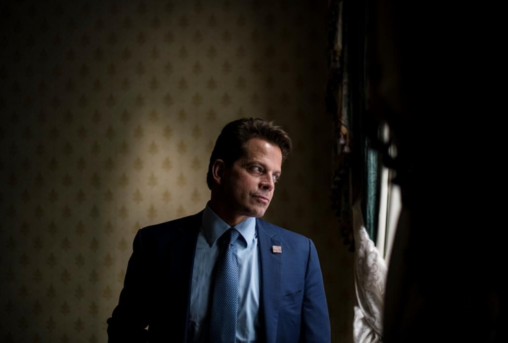 Former White House Press Secretary, Anthony Scaramucci,