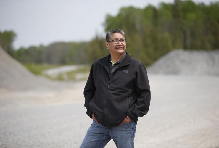 Chief Erwin Redsky, Shoal Lake 40 First Nation, Freedom Road,
