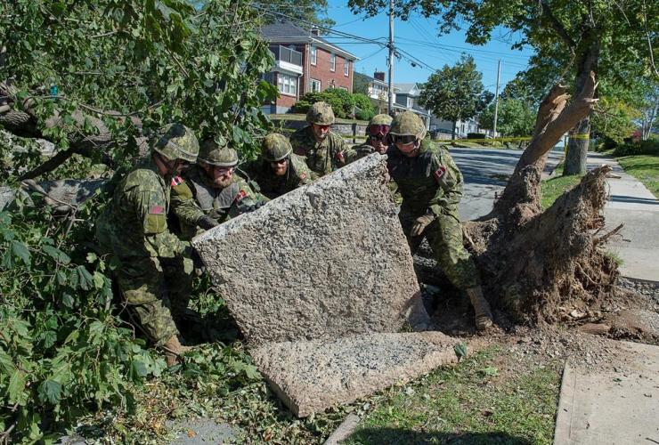 4 Engineer Support Regiment, Canadian Forces Base Gagetown, Halifax,