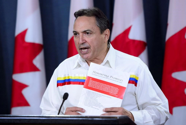 AFN National Chief, Perry Bellegarde, Honouring Promises,