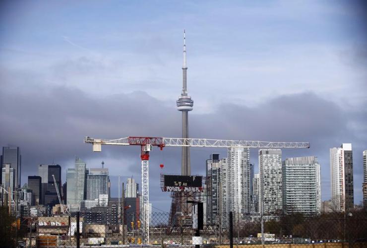 CN Tower, Toronto skyline, Toronto, Ontario,