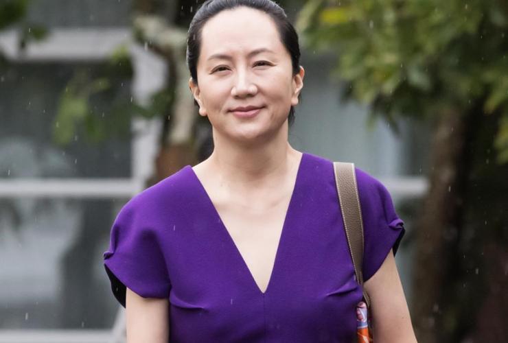 Huawei chief financial officer Meng Wanzhou,