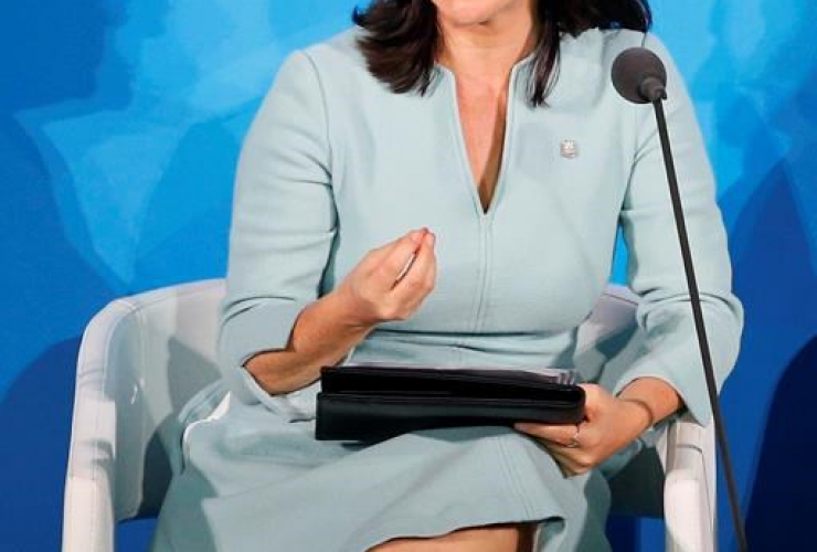 Montreal Mayor Valerie Plante, Climate Action Summit, United Nations General Assembly,