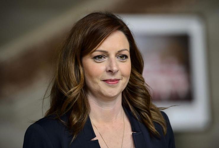 Radio-Canada journalist, Marie-Maude Denis,