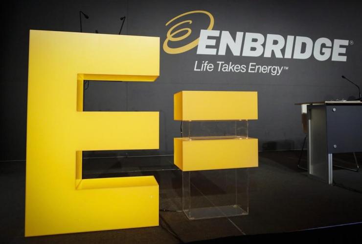 Enbridge logo, Calgary,