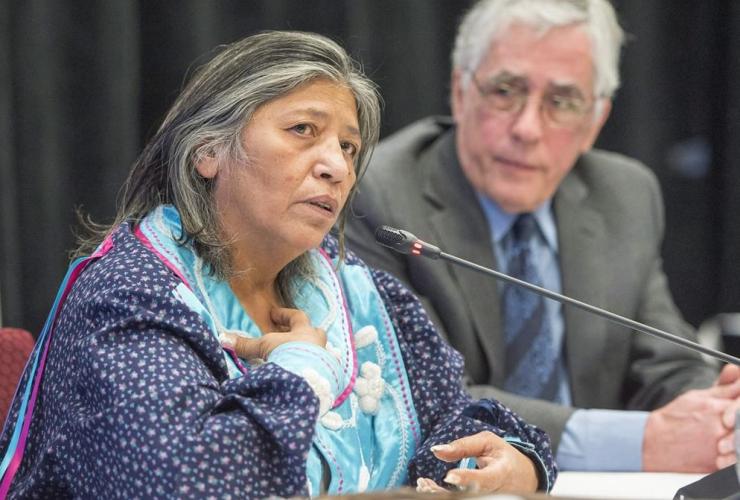 Mohawk elder, Sedalia Fazio, Jacques Viens, Quebec, Indigenous inquiry,