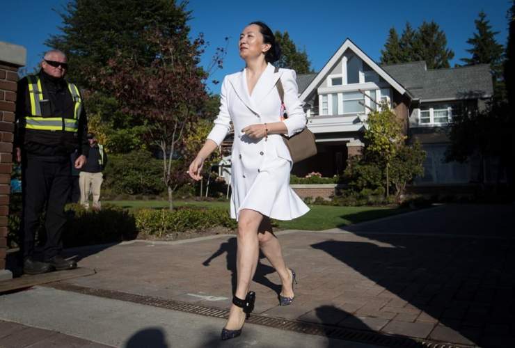 Huawei chief financial officer Meng Wanzhou,