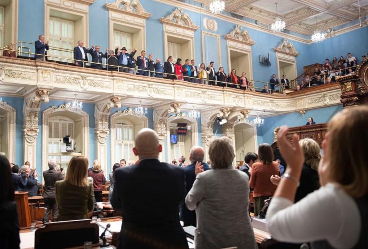Native leaders, National Assembly, Quebec Premier Francois Legault,