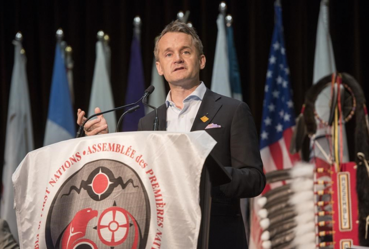 Seamus O'Regan, Minister of Indigenous Services,