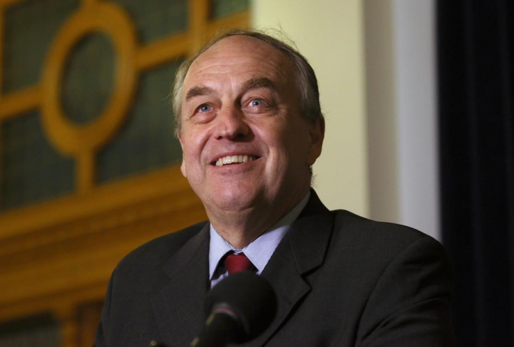 B.C. Green Party leader, Andrew Weaver,
