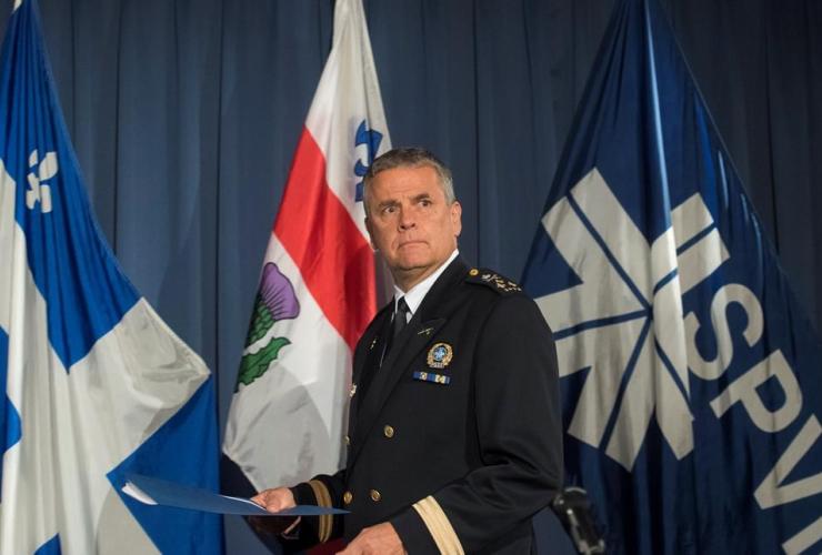 Montreal Police Chief Sylvain Caron,