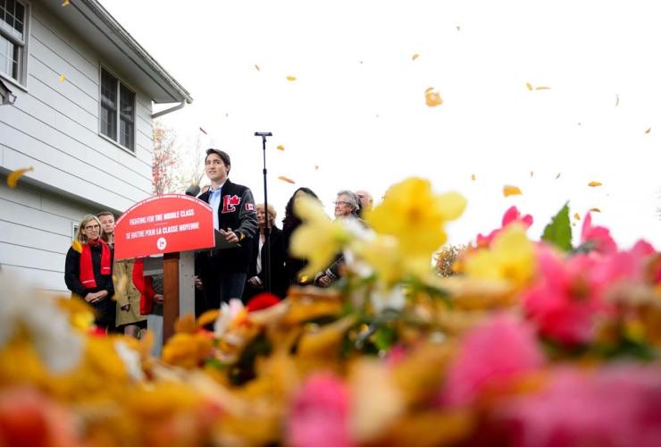 Liberal leader Justin Trudeau,