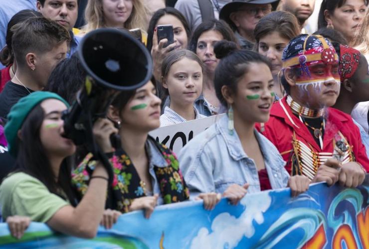 Swedish activist, Greta Thunberg, Climate Strike, Montreal,
