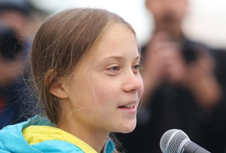 Swedish climate activist Greta Thunberg,