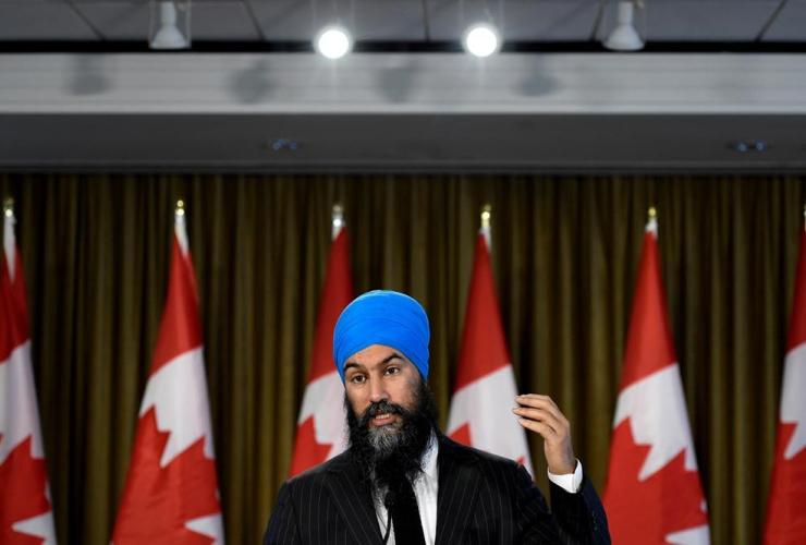 NDP Leader Jagmeet Singh,