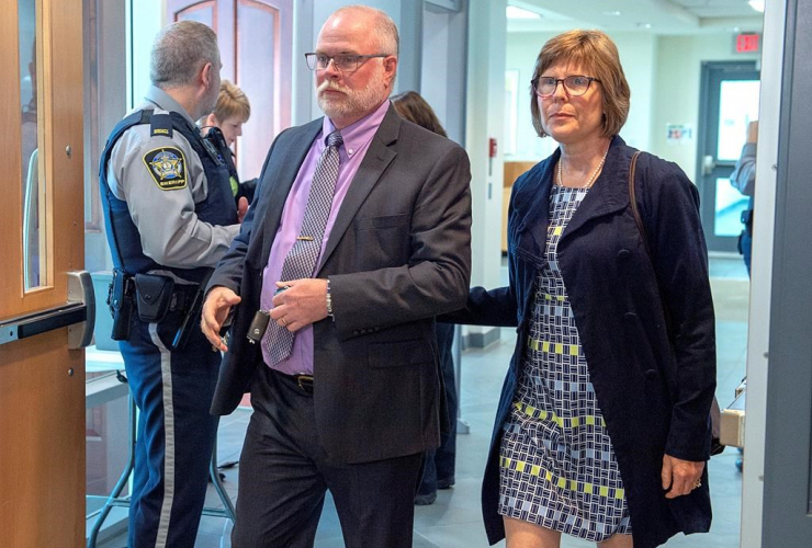 John Collyer, Bridgewater police chief, Sheri Collyer, Nova Scotia Supreme Court,
