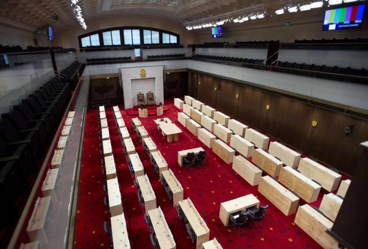 Senate Chamber, Senate of Canada Building, Government Conference Centre,
