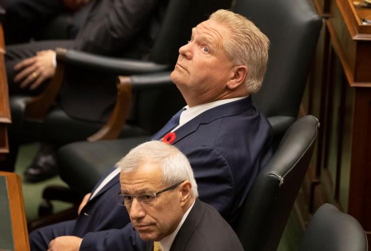 Ontario Premier Doug Ford, Ontario Legislature, Toronto,