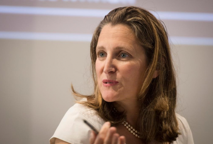 Chrystia Freeland,