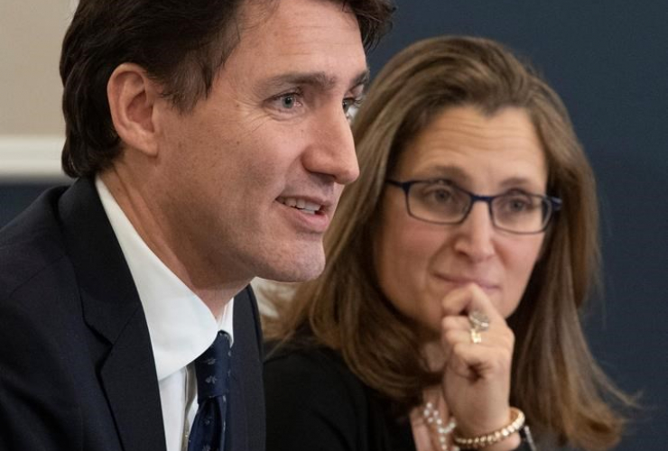 Deputy Prime Minister, Minister of Intergovernmental Affairs Chrystia Freeland, Prime Minister Justin Trudeau, Federation of Canadian Municipalities,