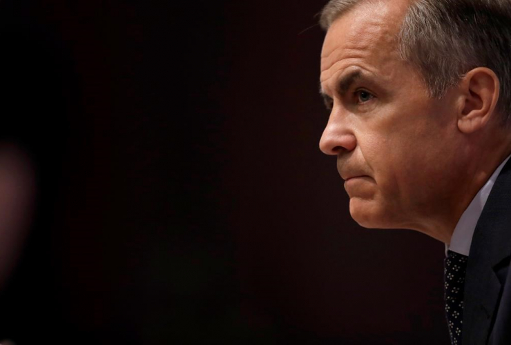 Mark Carney, Governor of the Bank of England,