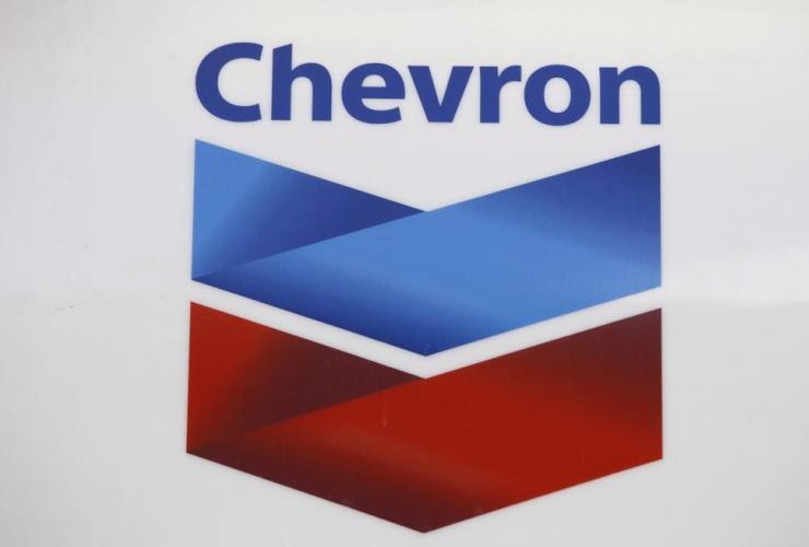 Chevron logo, gas station, Miami,