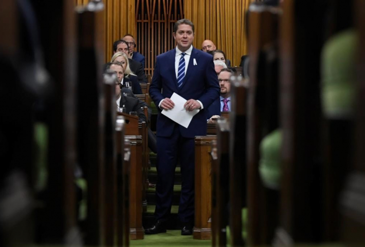 Leader of the Opposition Andrew Scheer,