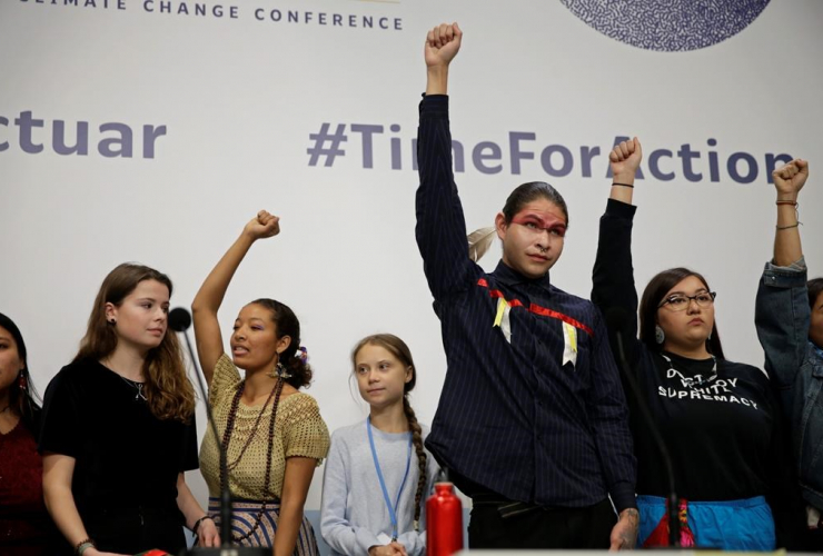 Climate activist Greta Thunberg,