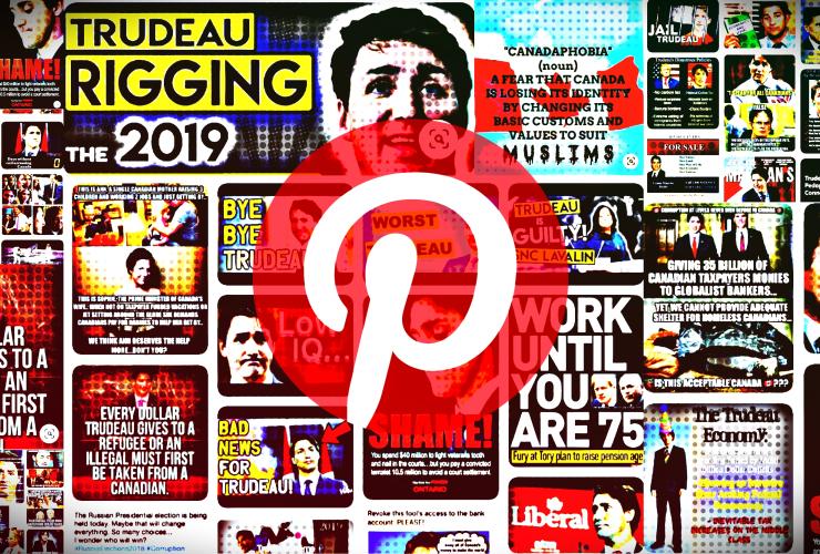 Trudeau Memes_Pinterest Disinformation